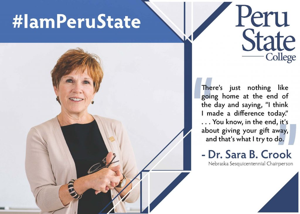 Dr. Crook comments on I Am Peru State