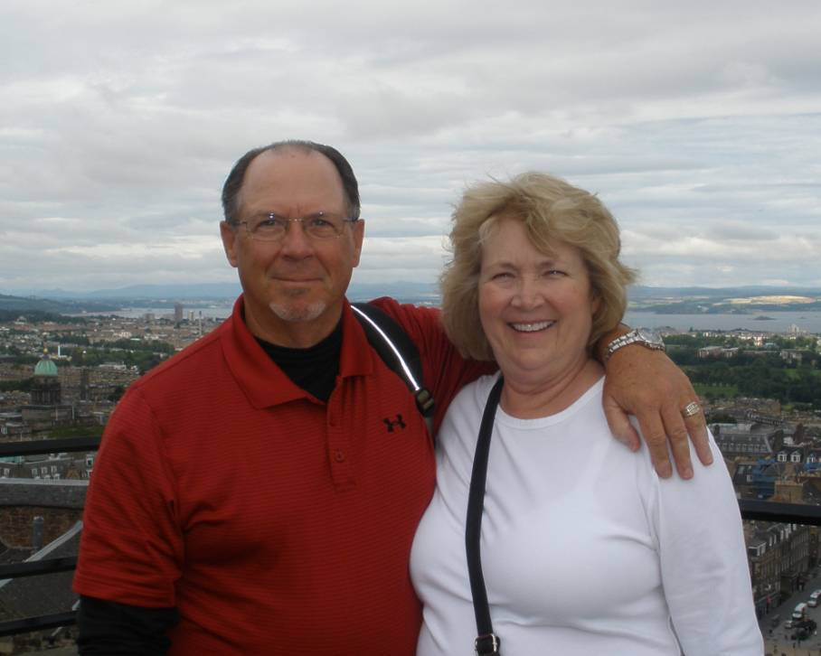 Fred and Pam Robertson